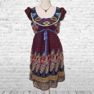 Anthropologie Aryeh Southwest Boho Dress